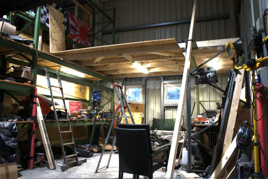 shop rebuild
