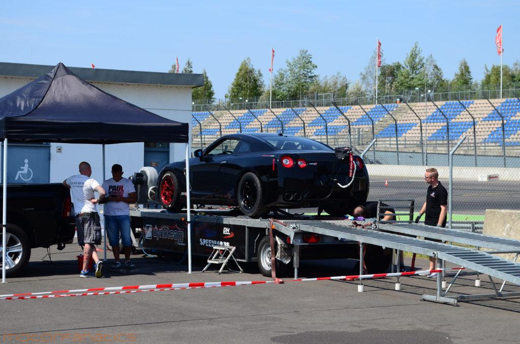 AMS Alpha on AWD Dyno at Reisbrennen Lausitz circuit 2015