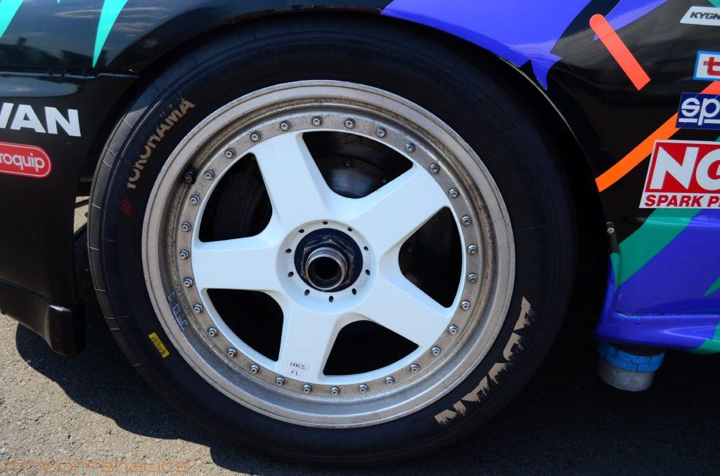 HKS R32 GTR at Reisbrennen Lausitz circuit 2015