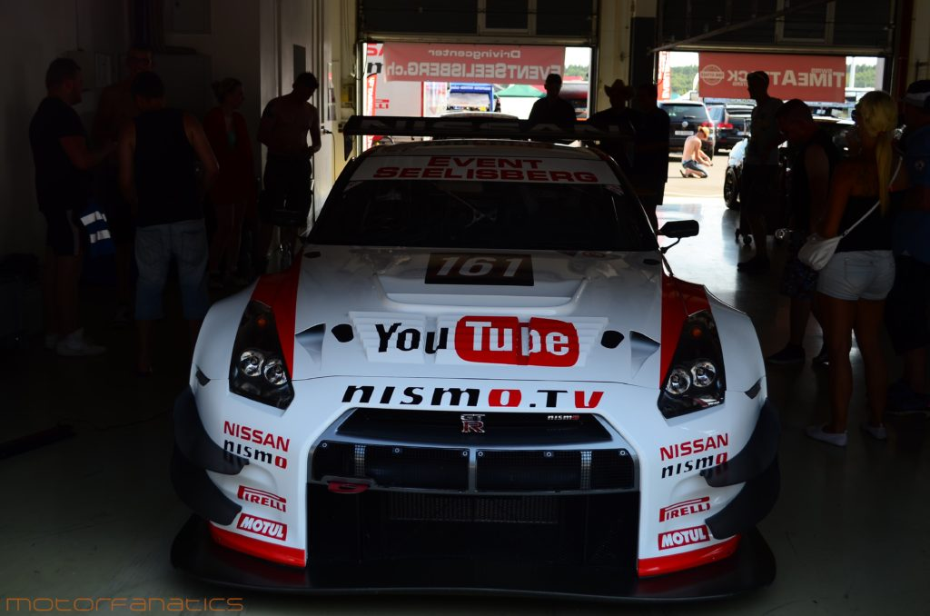 Nismo R35 GTR GT3 Race Car at Reisbrennen Lausitz circuit 2015